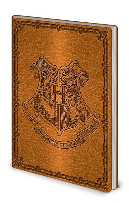 Harry Potter Hogwarts Crest Flexi-Cover A5 Exercise Book